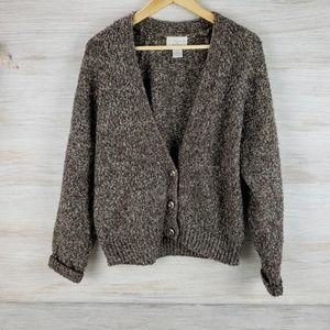 Christopher & Banks Button Up Sweater